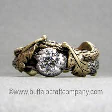 nature inspired engagement rings engagement rings and wedding bands buffalo craft company llc