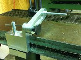 doall horizontal band saw work stop