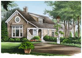 Lake Home Plans Narrow Lot Plan 32591wp Shingled Cottage Home Plan Sitting Area