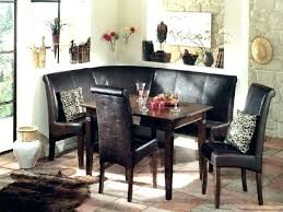 leather corner bench dining table set corner bench dining table set corner table set corner dining table