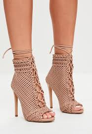s heeled boots australia ankle boots heeled lace up styles missguided australia
