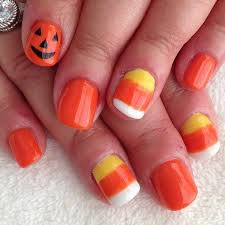 best 25 candy corn nails ideas only on pinterest halloween