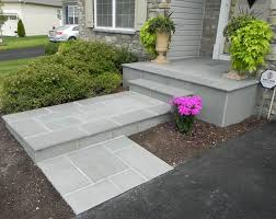 Cracked Concrete Patio Solutions by How To Transform Your Cracked Concrete Steps Into A Warm Welcoming