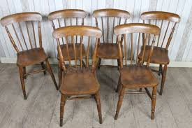 antique victorian dining kitchen chairs spindle back