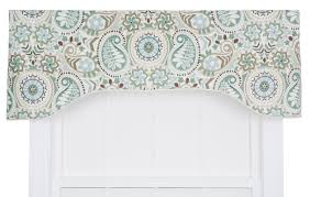 Black And White Valance Alcott Hill Drumahaman Floral Print Lined Arched Curtain Valance