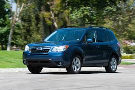 blue subaru forester 2015 2014 subaru forester 2 5i touring long term update 1 motor trend