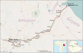 Djibouti Map Chinese Railway Project Saves Lives In Ethiopia