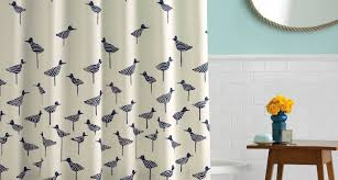 Shower Curtains Ebay Shower Nautical Shower Curtains Fabric Black And White Shower