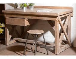 grand bureau en bois grand bureau d atelier en bois marque amadeus