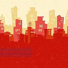 city building background silhouette poster city building sketch