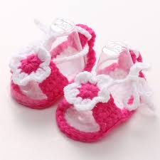 baby girl crochet aliexpress buy flower infant baby crochet shoes white