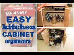 kitchen cabinet organizers by rev a shelf by home repair tutor