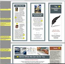 free word brochure templates lovely handout template word general