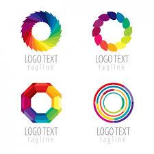 imagenes abstractas con circulos pack de logos de círculos abstractos coloridos descargar vectores