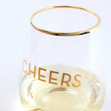 Wine Glass Cheers Stemless Wine Glass Set Of 2 The Vinepair Store