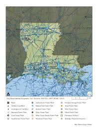 Louisiana Parish Map With Cities by Louisiana Profile