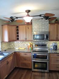 Metal Backsplash For Kitchen Metal Tiles For Backsplash Kitchen Kitchen Cool Cedar Wood