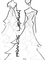 bridal gown sketches by francis libiran m u0027s photolog