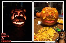 five nights at freddy s halloween image 858677 pumpkin carving art know your meme