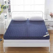 Folding Bed Mattress Knitted Memory Foam Mattress High Density Thickening Anti Skid