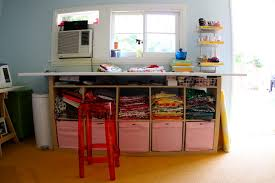 Craft And Sewing Room Ideas - the craft room redesign project diy sewing u0026 cutting tables