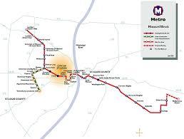 stl metro map st louis metro map