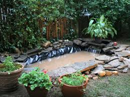 outdoor pond installation hgtv