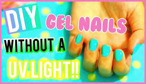 how to cure gel nails without a uv light diy gel nails without a uv light youtube