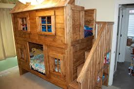 Girls Bunk Bed Design Bedroom Bestsur Yellow And Green Combine - Rustic wood bunk beds