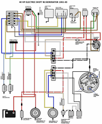 61 66 40hp evinrude wiring diagram outboards wiring diagram