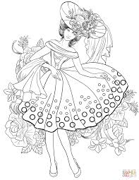 american woman from 40 u0027s coloring page free printable coloring pages