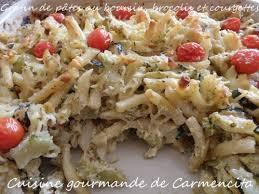 courgette boursin cuisine gratin de pâtes au boursin brocolis et courgettes cuisine