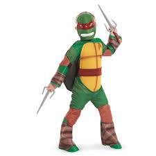 Teenage Mutant Ninja Turtles Halloween Costumes Girls Teenage Mutant Ninja Turtle Raphael Kids Costume Vinyl Mask