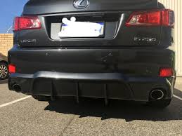 lexus perth wa is250 ebay rear diffuser results please read clublexus lexus