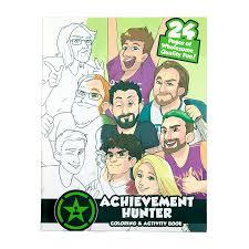 achievement hunter activity book u2013 rooster teeth store