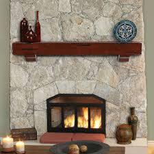 fireplace mantel shelf plans style