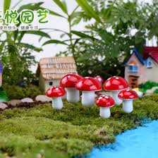 10pcs mini garden ornament miniature plant