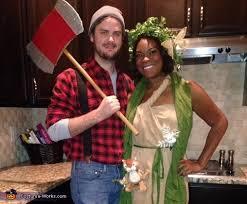 lumberjack costume tree costume