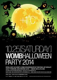 ra womb halloween party 2014 at womb tokyo 2014