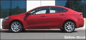 lowered dodge dart eibach pro kit lowering springs in stock lowers 1 inch front and