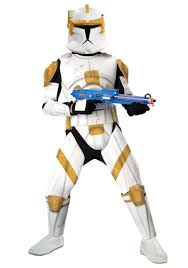 deluxe commander cody costume clone wars halloween costumes