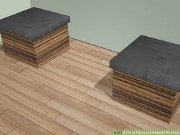 Removing Laminate Flooring How To Replace Laminate Flooring With Pictures Wikihow