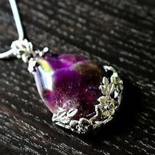 amethyst crystal necklace images Best healing crystal necklace products on wanelo jpg