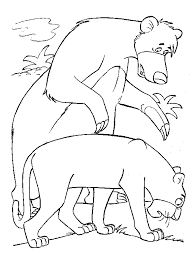 kids fun 62 coloring pages jungle book