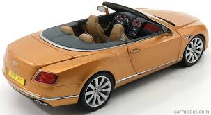 bentley coupe gold paragon models 98232l scale 1 18 bentley continental gt