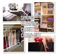 spring cleaning closet clean out caroline renae