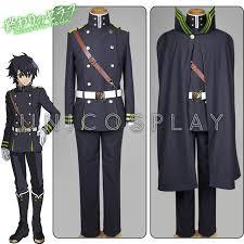 Army Halloween Costumes Mens Aliexpress Buy Seraph Yuichiro Hyakuya Cosplay