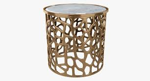 Drum Side Table 3d Imogen Copper Drum Side Table Cgtrader