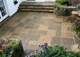 Slabbed Patio Designs Webb Landscapes Driveways Paving Landscaping Decking