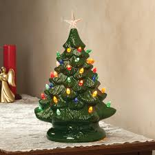 ceramic christmas tree nostalgic ceramic christmas tree ceramic tree kimball